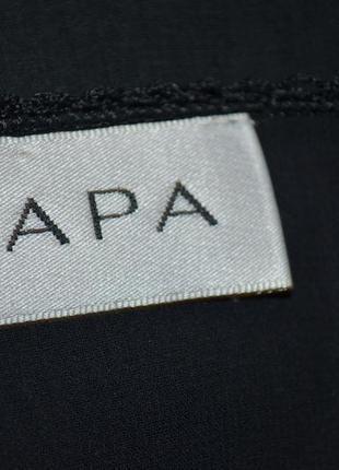 Длинное черное платье с мережкой zapa дорогой бренд *4 фото