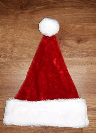Новогодняя шапка санта клаус text santa4
