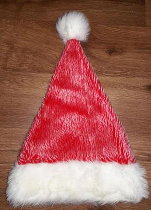 Новогодняя шапка санта клаус pms4