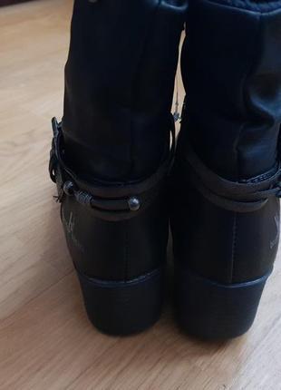 Новые фирменные ботинки на флисе 39р./25 см4 фото