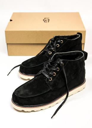 Шикарные мужские зимние угги/ ботинки ugg australia с натуральным мехом!