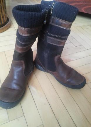 Шкіряні дитячі чоботи 26 розмір f2e9923bb06be