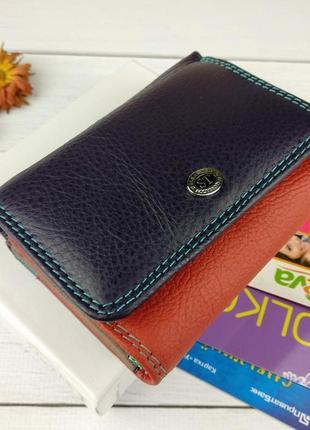 Женский кошелек из натуральной кожи st sb 403 violet
