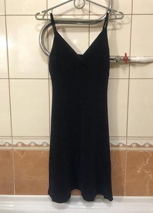 Вечернее платье платье с люрексом
