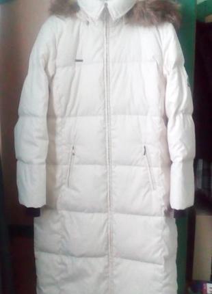 Пухова пальто пуховик columbia m на 48-52 р