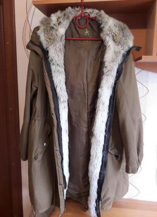 Куртка парка большой размер