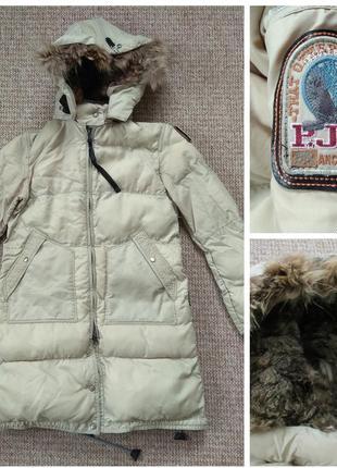 Parajumpers long bear женский пуховик куртка парка оригинал m