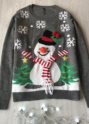 Новорічний светр/свитер chicoree