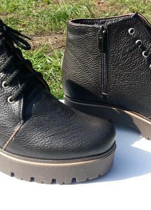 Распродажа!!! ботинки натуральная кожа
