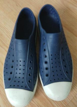 Native резиновая обувь кеди