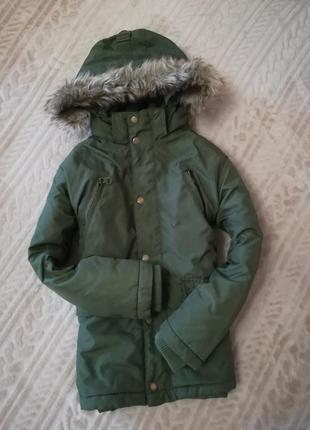 Куртка зимняя h&m на 8-9лет цена-420