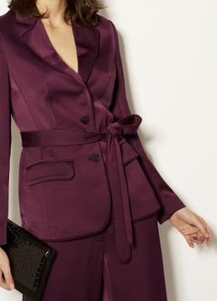 Пиджак с поясом karen millen_ одет 1 раз
