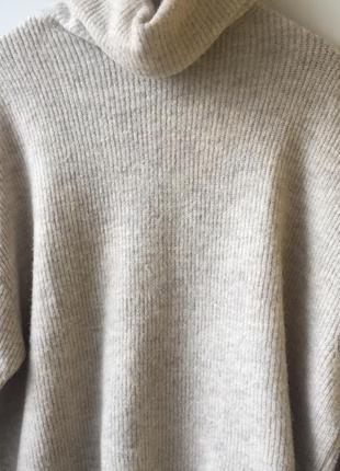 Мягкий кашемировый оверсайз свитер свитерок