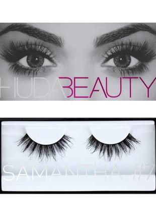 Накладные ресницы huda beauty samantha #7