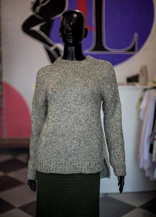 Большая расспродажа!!! шикарный вязаный шерстяной свитер от sewel