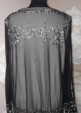 Блузка в паетках премиум класса2