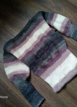 Теплый джемпер, реглан, свитер
