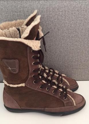 Зимові жіночі чоботи ecco зимние женские сапоги