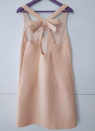 Нарядное платье с бантом topshop