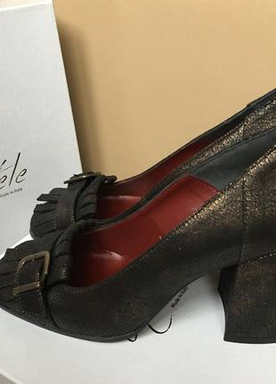 Туфли натуральна шкіра италия