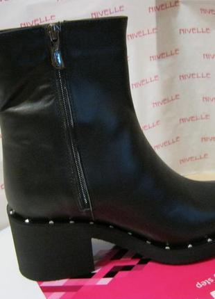 Ботинки зима на каблуке4