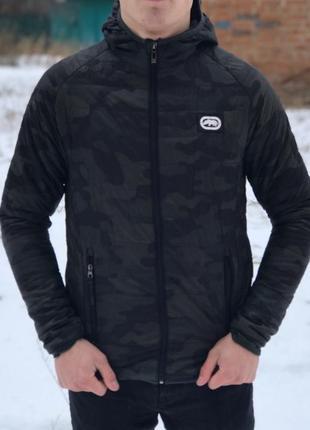 Оригинальная куртка (бомбер) ecko размера s (44-46) сезон: осень-зима