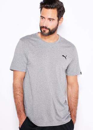 Мужская футболка puma logo tee р. m оригинал