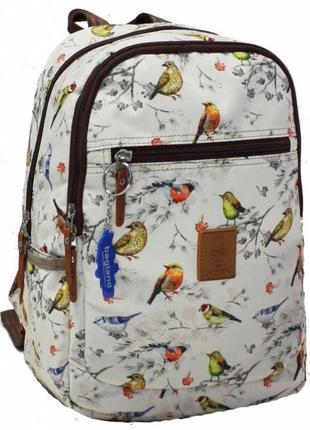 Молодежный,студенческий рюкзак-сумка в красочный принт-ассортимент.