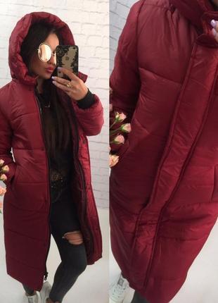 Курточка-пальто зимнее мега теплое