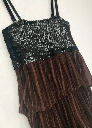 Новогоднее платье s - xs