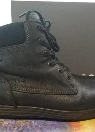 Женские ботинки ecco, полуботинки, экко оригинал