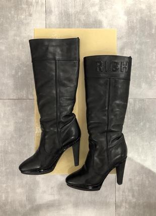 Сапоги зимние на каблуке richmond