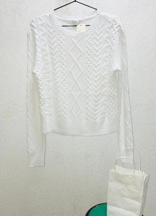 Джемпер білий pimkie