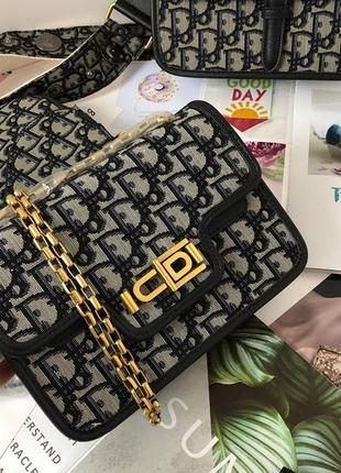 Сумка женская клатч женский сумочка стильная холст кожа серая черная
