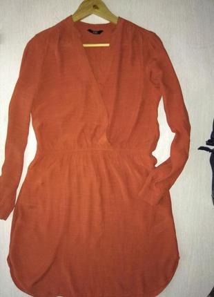 Платье с вискозы