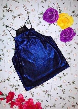 Модный нарядный топ блуза с напылением topshop, размер xs-s