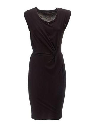 Распродажа!!! guess платье черное короткое трикотажное летнее размер s