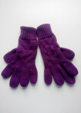 Теплые вязаные перчатки joe boxer