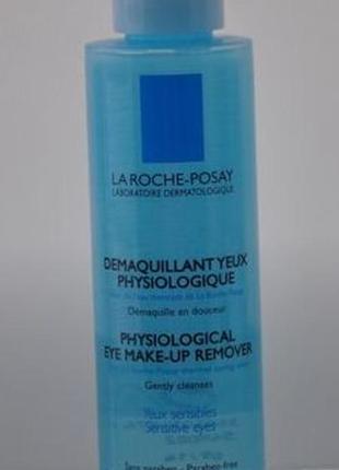La roche-posay physiological eye make-up remover средство для снятия макияжа с глаз.