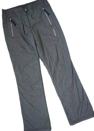 Штаны спортивные брюки на офисе на тёплые reebok