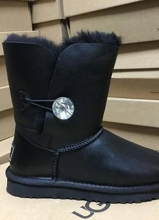 Ugg женские угги bailey button black 112168