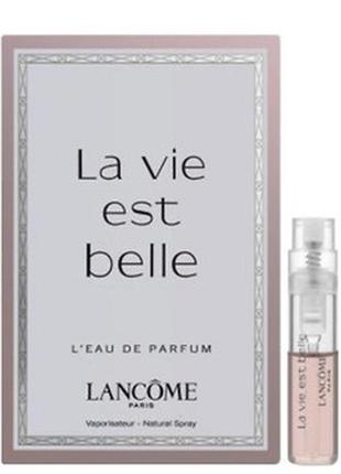 Пробник парфюма lancome la vie est belle