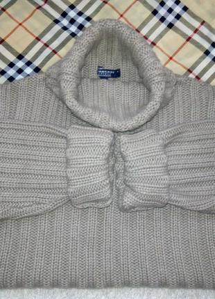 Кашемировый свитер burberry оригинал