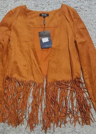 Оригинал.новый,фирменный,стильный пиджак-френч-кардиган missguided
