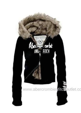 Стильна хутряна курточка abercrombie & fitch оригінал