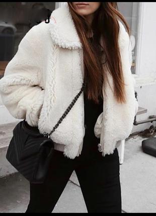Меховая куртка на молнии fb sister
