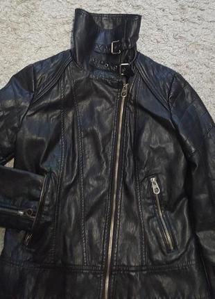 Оригинал.фирменная,стильная,крутая куртка-косуха guess
