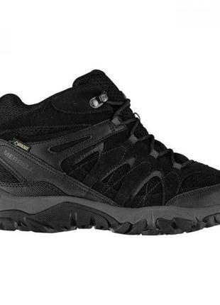 Ботинки merrell outmost ventilator mid gore-tex black оригинал