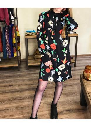 Платье в цветочный принт от zara