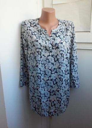 Стильная блуза в цветы bonita вискоза